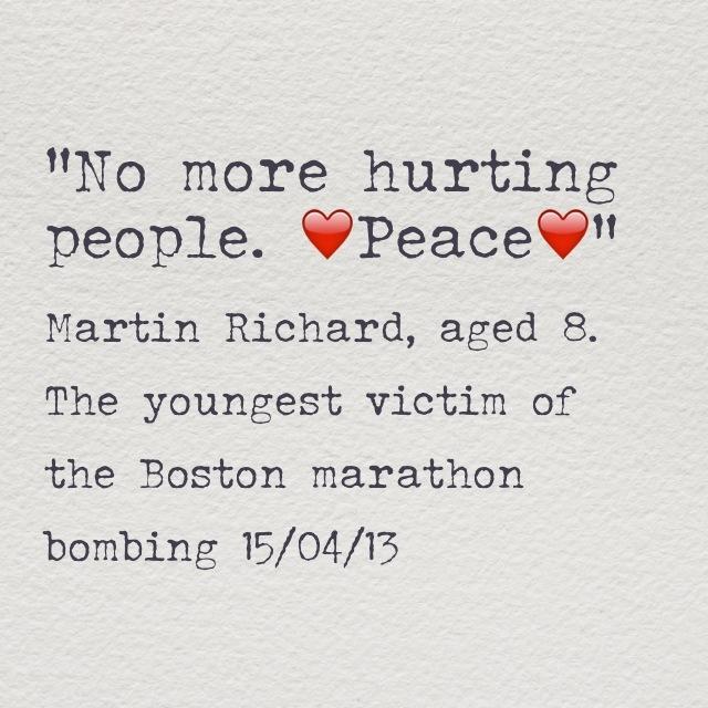 Martin Richard Quote